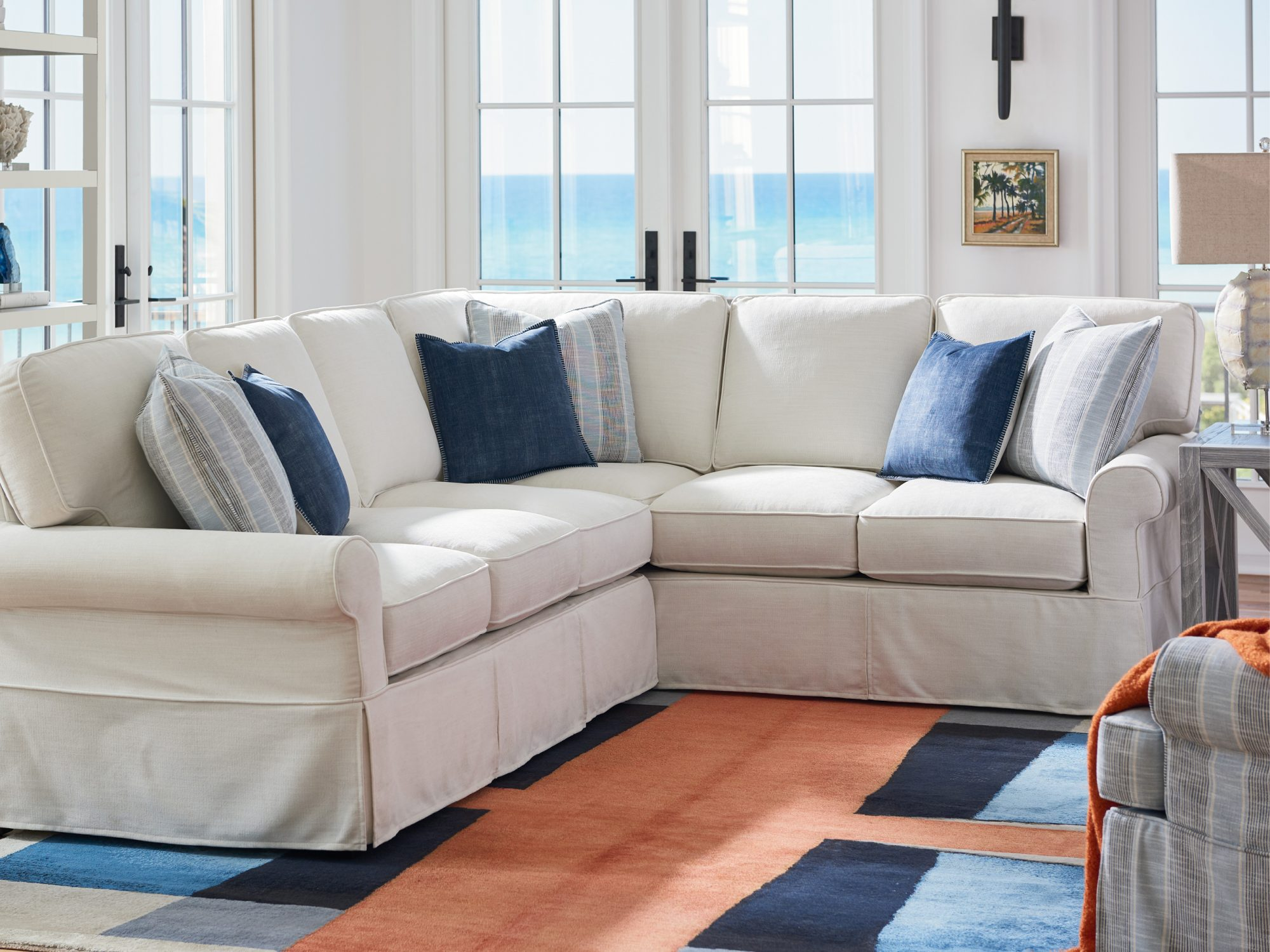Sectional Sofa from the Coastal Living Furniture Collection