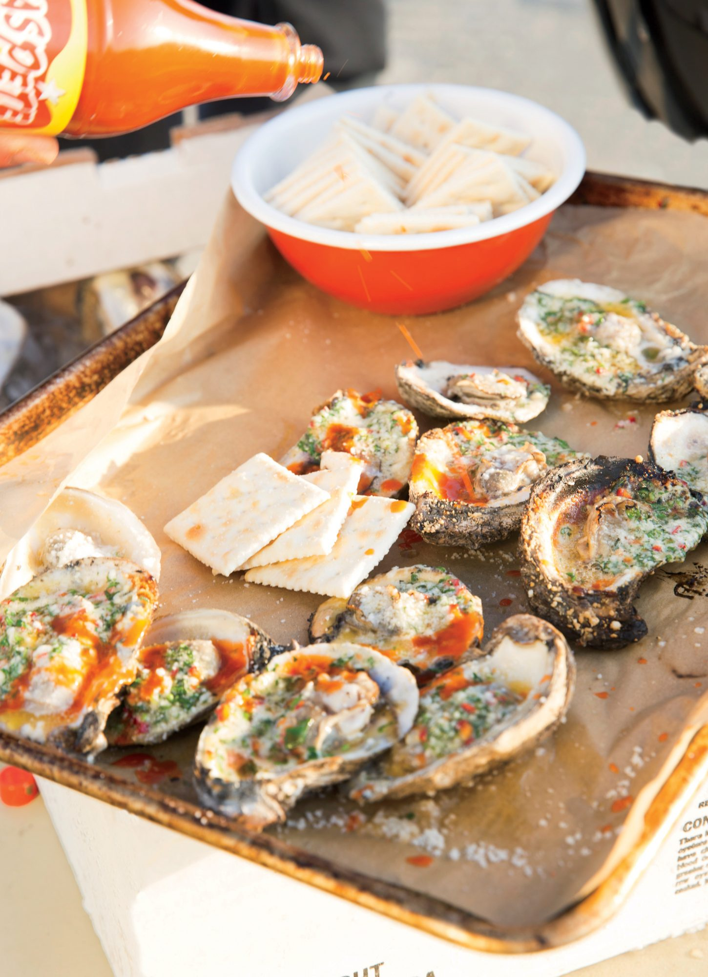 Barton's Texas BBQ Oysters