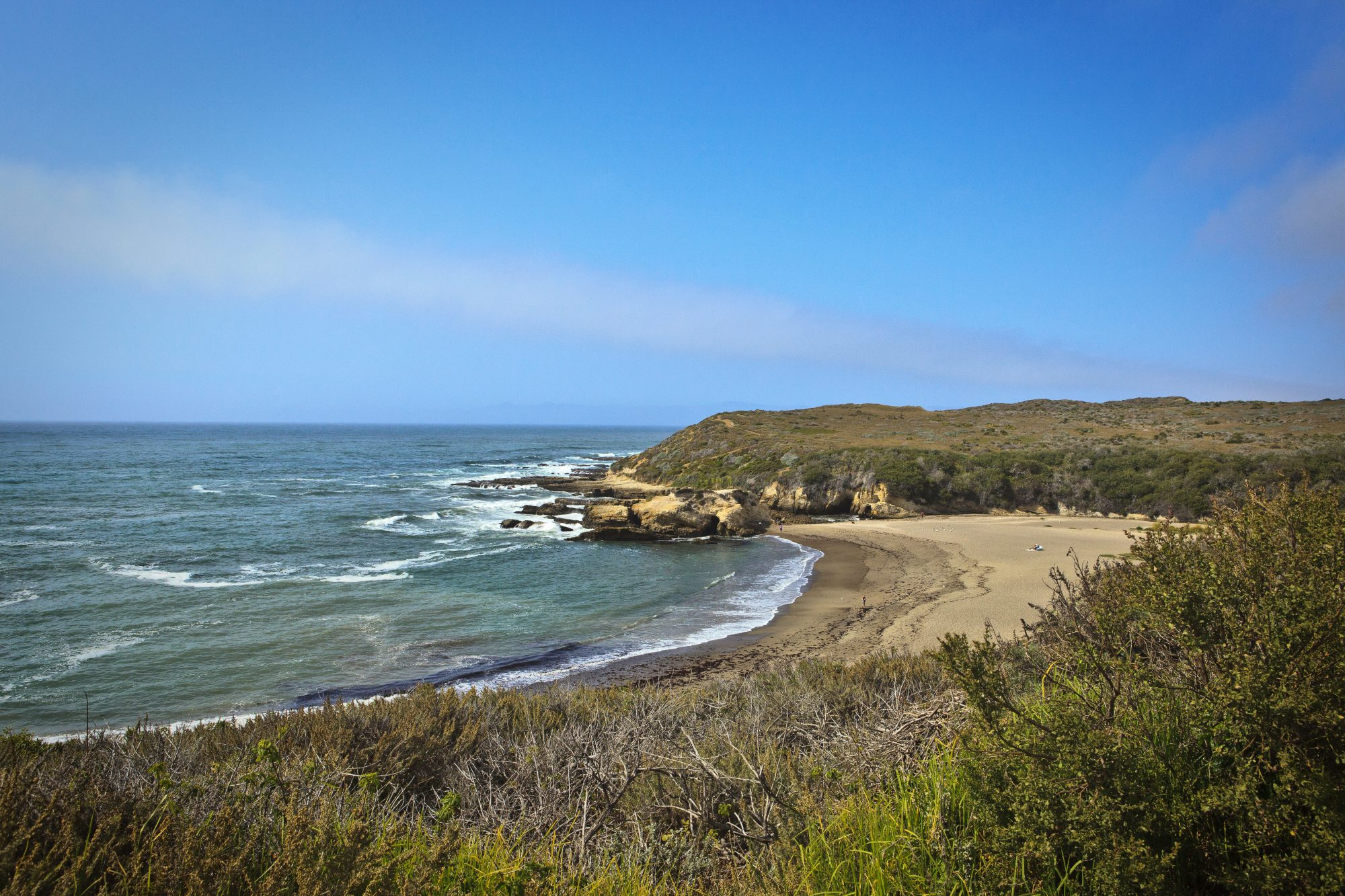 Wander among some of California's most stunning coastline at this often overlooked state park in San Luis Obispo County. Visitors find secluded coves, pounding surf, and sweeping bluff views along seven miles of shore. And now a new path from the state park's southern boundary leads to remote Coon Creek Beach.