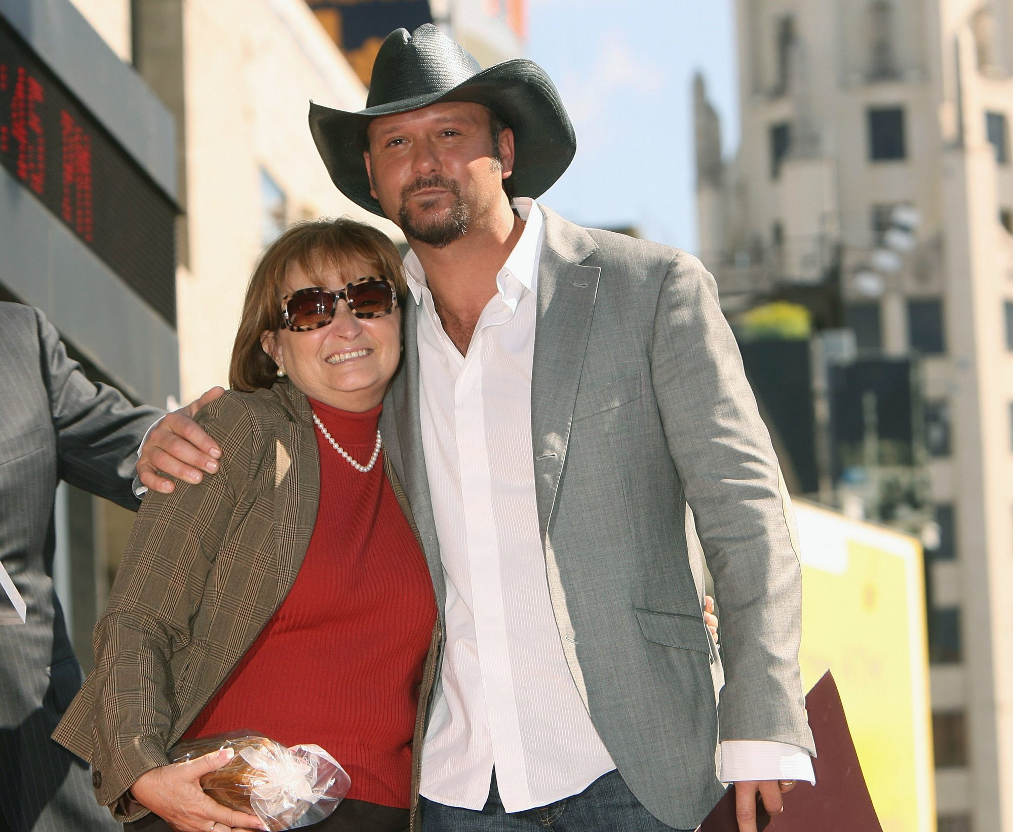 Tim McGraw Honored With A Star On The Hollywood Walk Of Fame