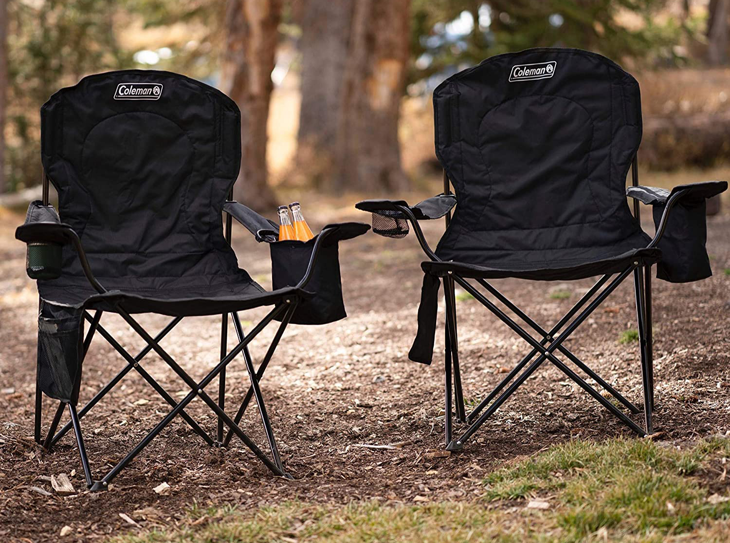 Black Coleman Chairs