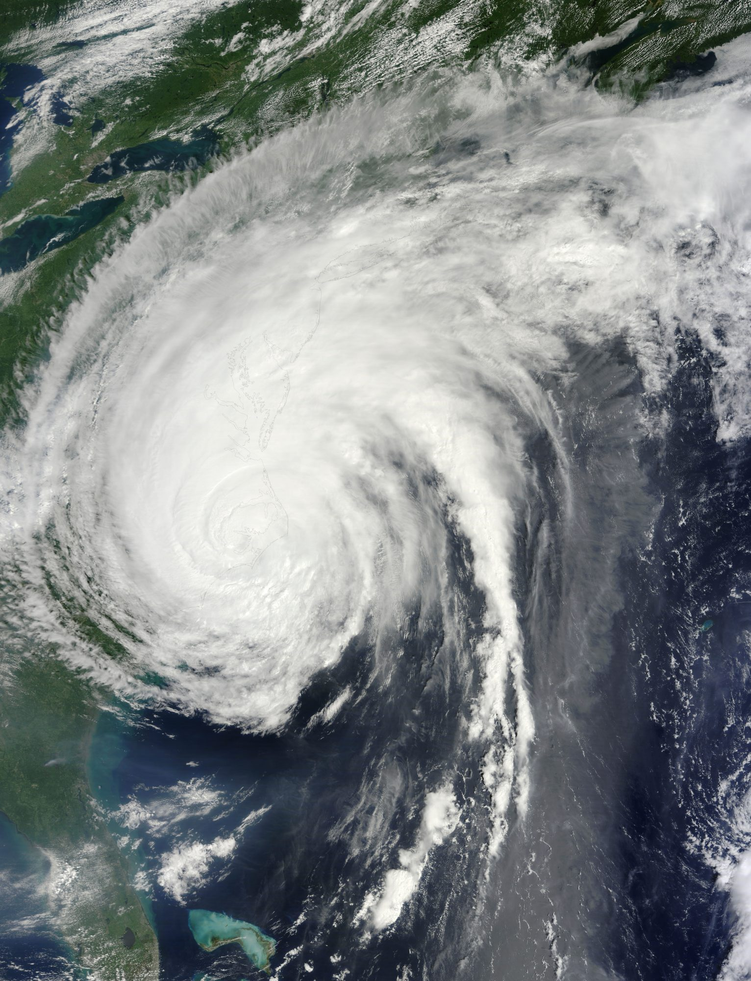 Hurricane Irene made landfall initially in North Carolina in August 2011 as a Category 1 hurricane; it then moved northeast, blowing through the mid-Atlantic and New England and causing major flooding in New Jersey, Massachusetts, and Vermont. Cost: $15.8 billion