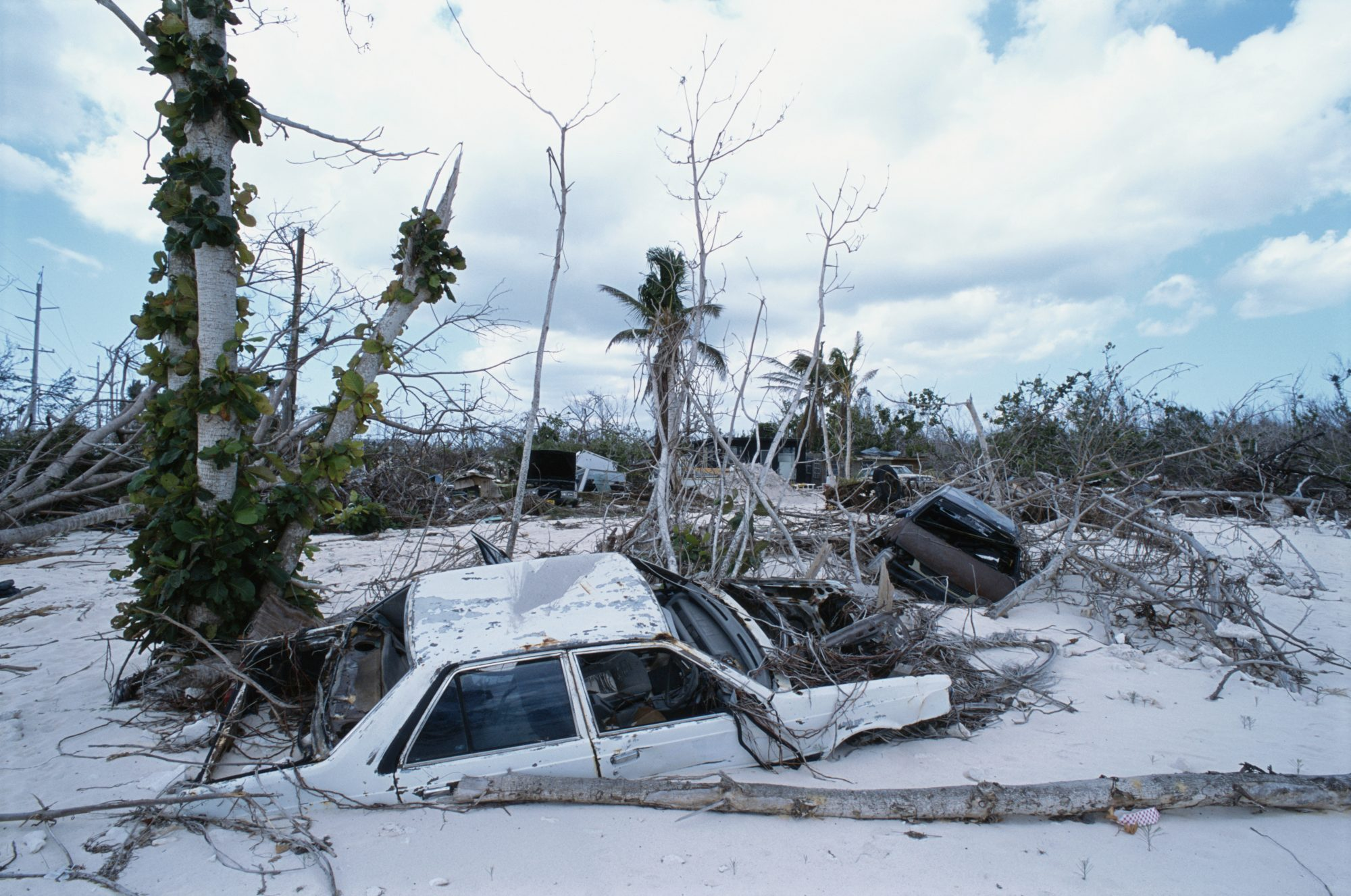 Hurricane Ivan was incredibly long-lived: It lasted from September 2, 2004, to September 26, when it finally dissipated. It reached Category 5 status while over the Caribbean Sea but weakened to Category 3 strength before hitting Gulf Shores, Alabama, and northwest Florida on September 16. Cost: $18.8 billion