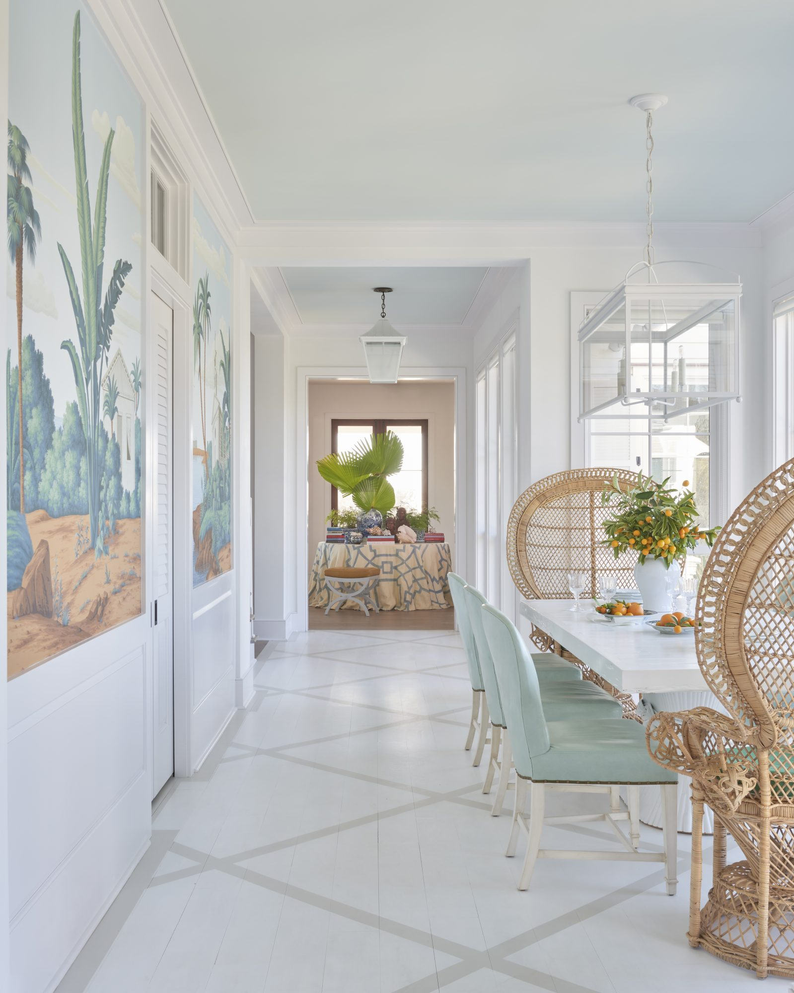 Carolina coast dining room