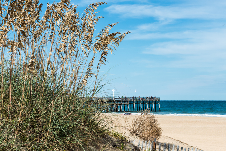 Officially a part of the Virginia Beach metro area, this secluded hideaway of five miles of pristine dunes and wild oats 15 miles south of the boardwalk-and-funnel-cake action is an incredible discovery with a family vibe. The peaceful community of beach