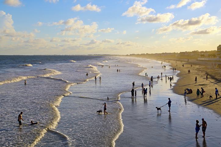 A short drive from Charleston, Folly Beach is a barrier island both near to city life and millions of miles away. Funky, free-spirited, and full of surfers, sun-seekers, and quirky souls, this is beach life in all its glory. Get your action fix at Center