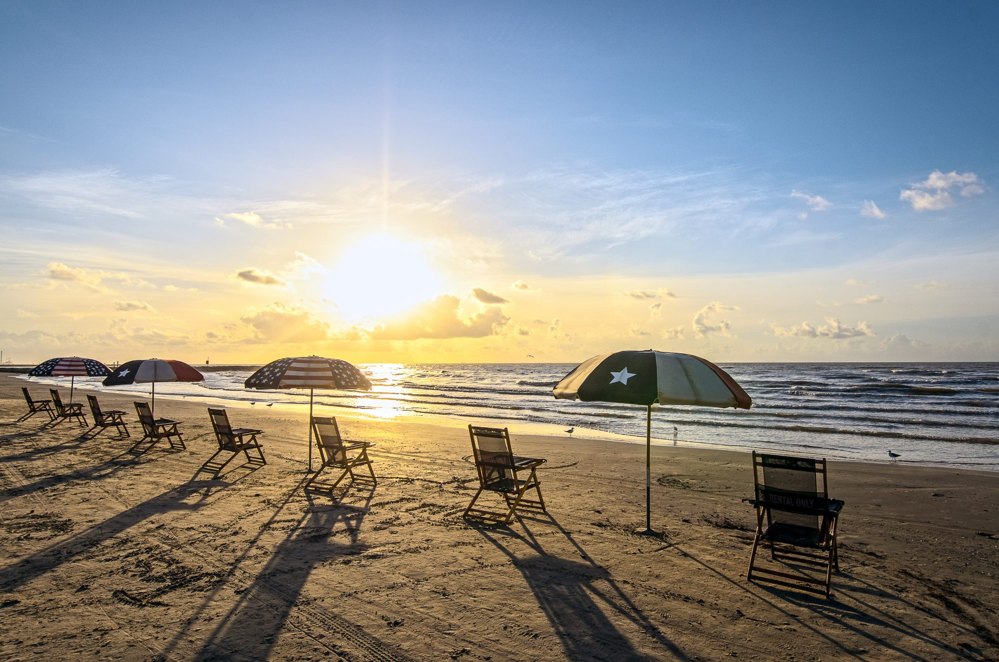 It doesn't get beachier than these 10 miles of Gulf-facing sands on charming and historic Galveston Island. Named for the seawall that runs along the low-lying shoreline (and the boulevard that bears its name), this park has every kind of beach experience