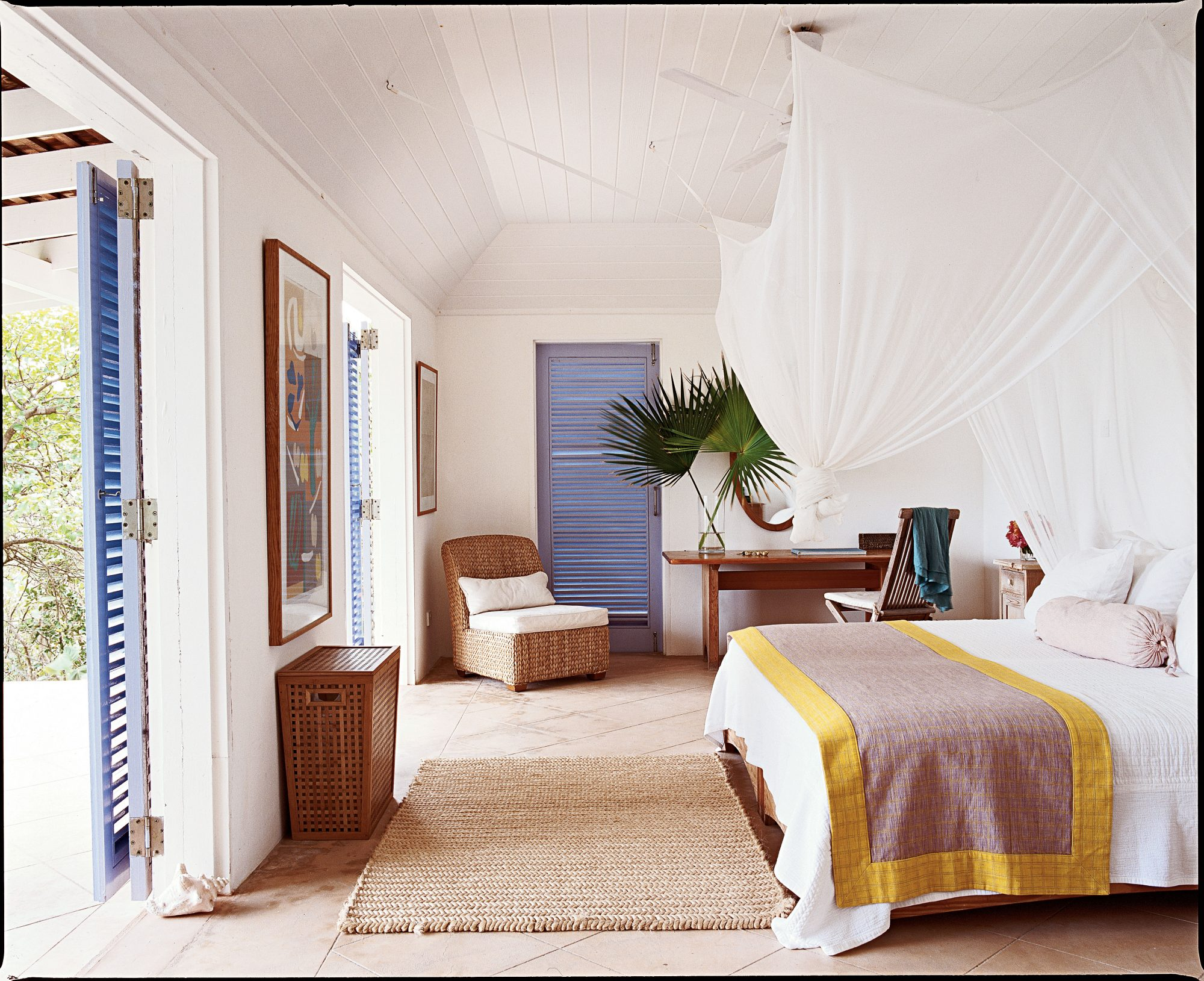 Our Prettiest Island Rooms: Airy Bedroom