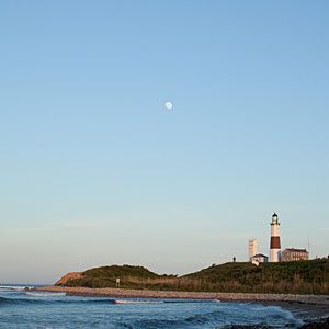 Montauk, New York                             This town sits like a shingled island among the protected forest, rolling grasslands, and foamy breakers tumbling in from the Atlantic. It's a refreshing cocoon of preserved land. (Sixty-five percent of the town is protected in a preservation fund.) The community is driven by entrepreneurs, savvy business people, and conservationists—all dedicated to preserving Montauk.
