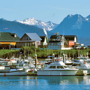 Homer, Alaska                                       Artists, entrepreneurs, and adventure seekers find nirvana on the shores of Alaska's Kenai Peninsula. Whether you come by land, air, or water, getting to Homer is an odyssey. All routes cross a region of extraordinary natural wonders.
