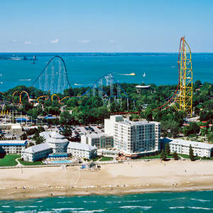 Sandusky, Ohio                             This small Ohio town is making waves with waterfront renovation and affordable real estate. The Cedar Point amusement park in Sandusky, Ohio is home to some of the tallest, fastest, most hair-raising roller-coasters in the world, the park offers visitors amazing views of Lake Erie―and allows thrill seekers to peer down onto one of the state's most historic Great Lakes cities.