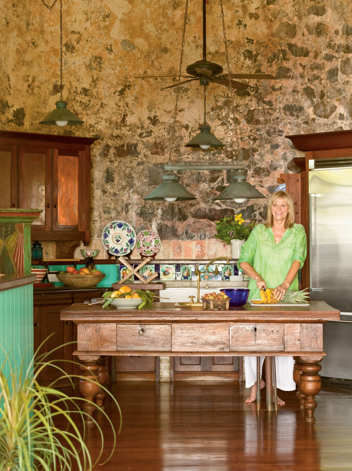 Our 25 Prettiest Island Rooms: Rustic Kitchen