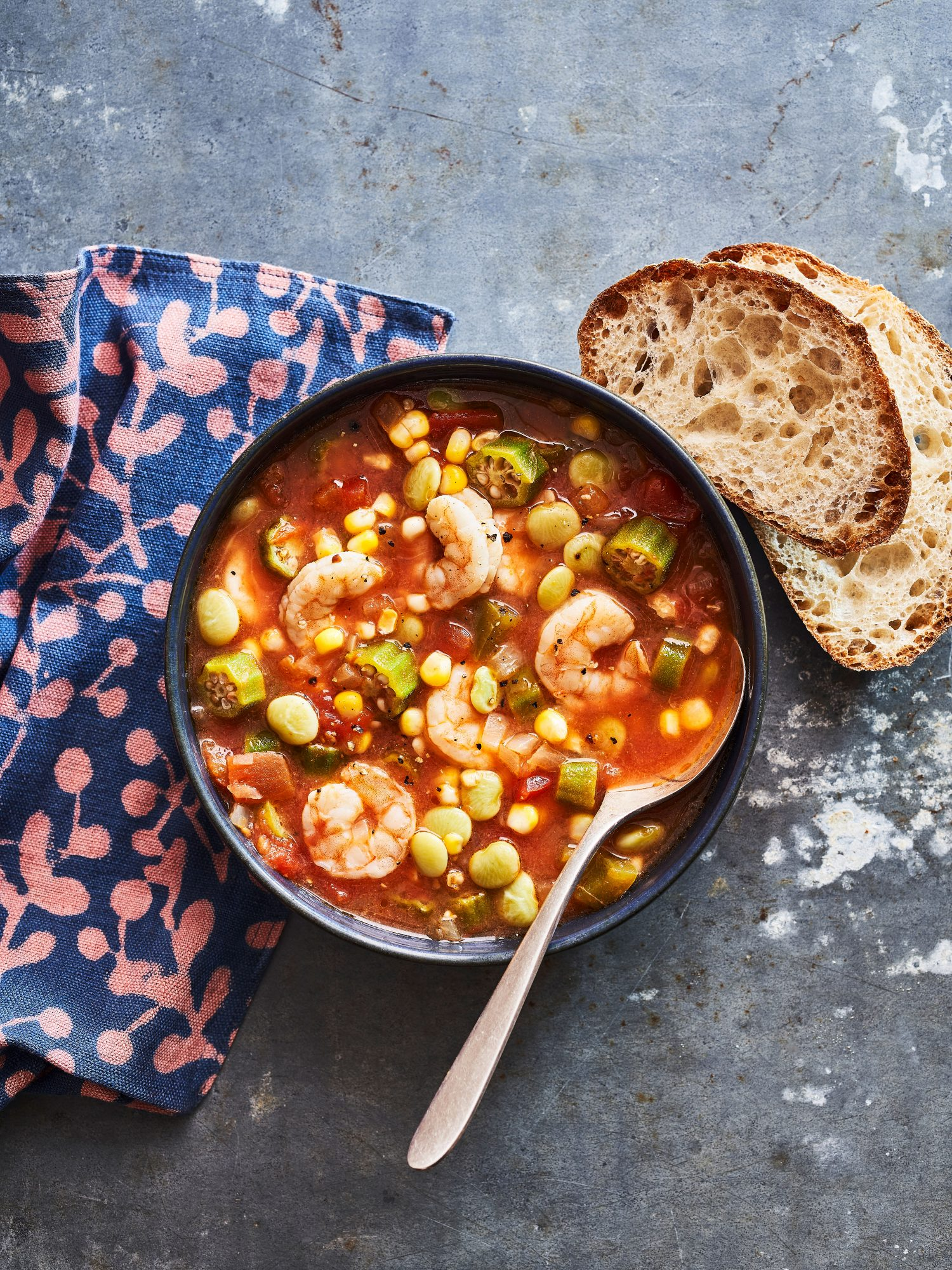 Kardea Brown's Okra Soup with Shrimp