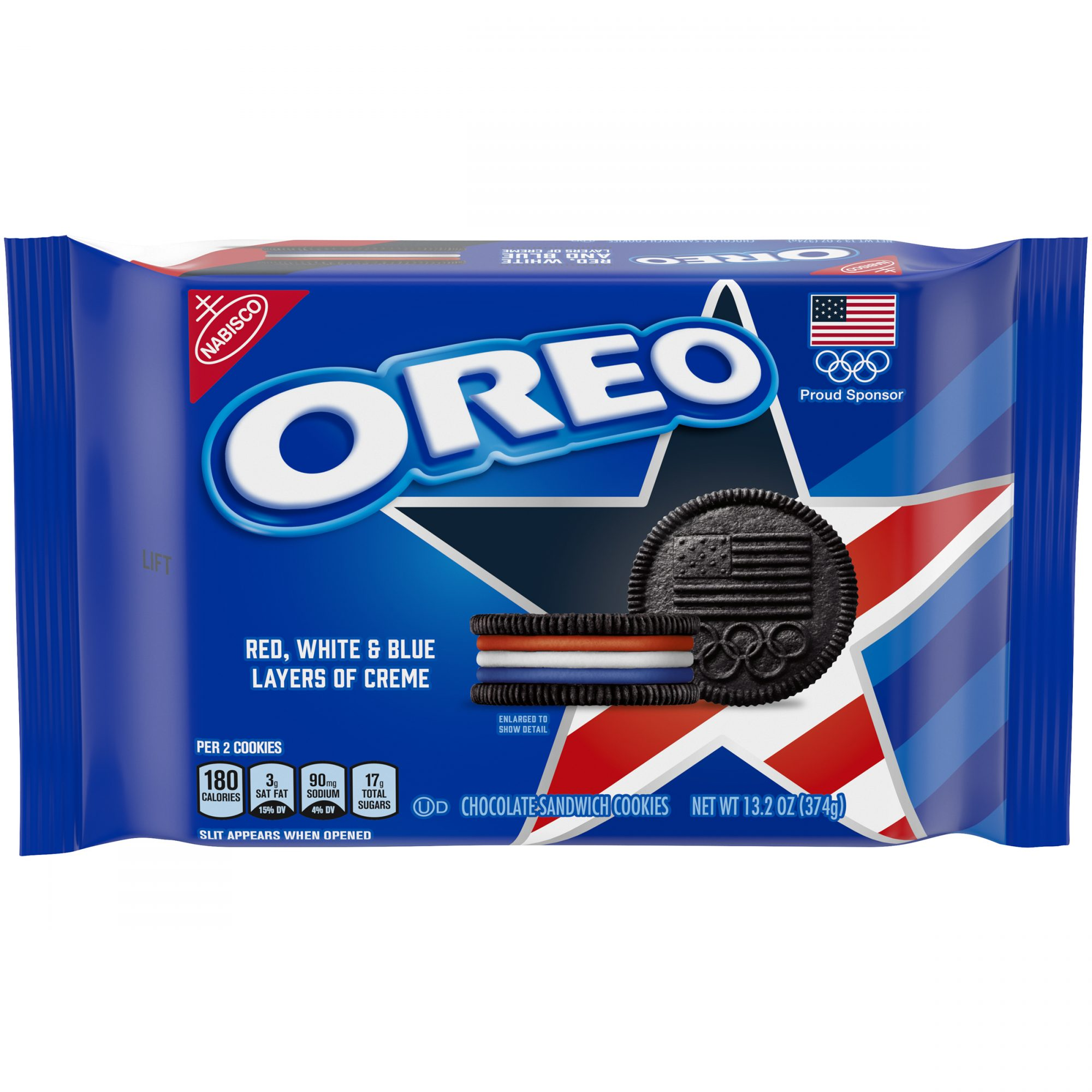Red White and Blue OREO