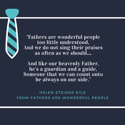 Father's Day Quotes about Dad Helen Steiner Rice