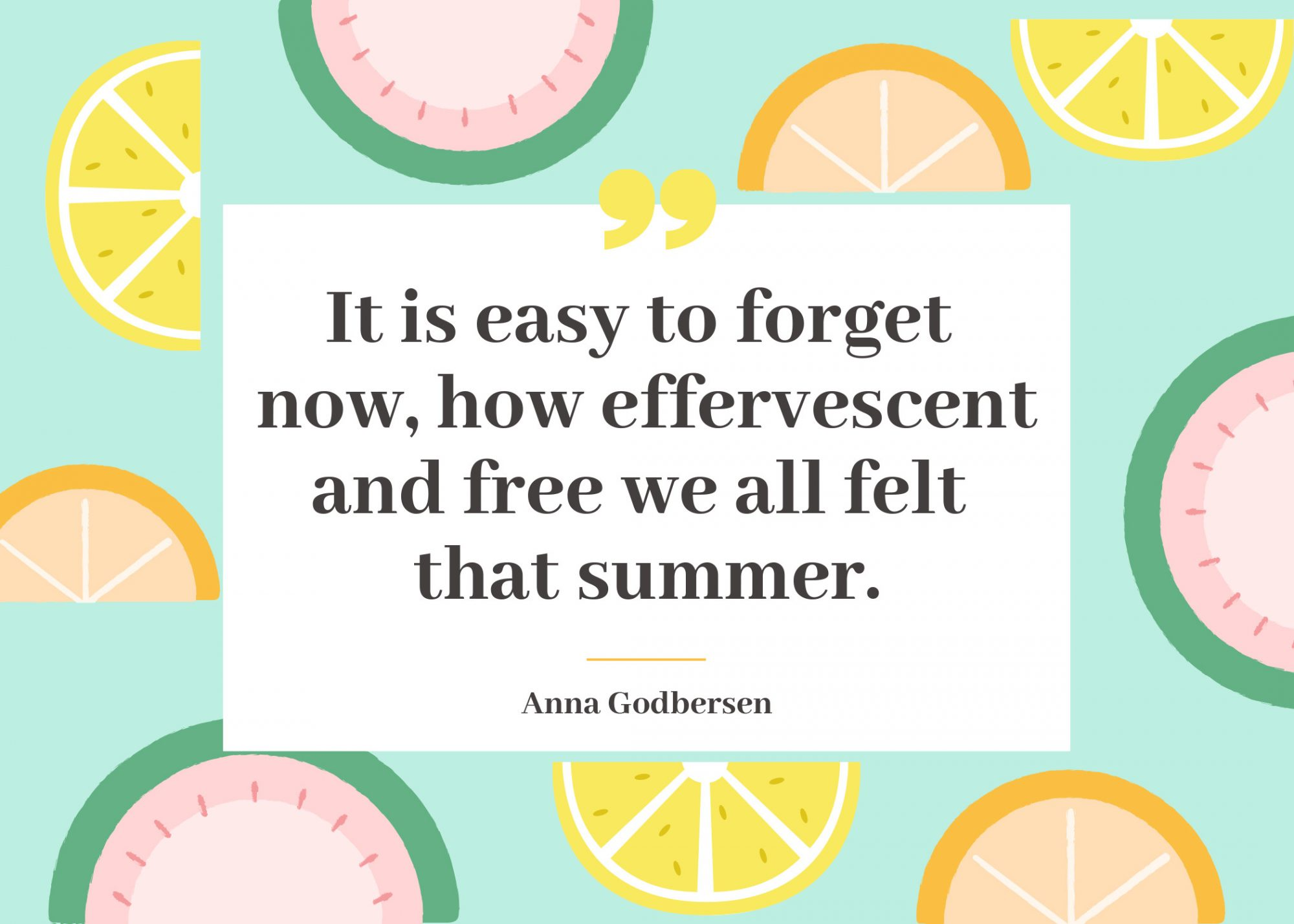 Summer Quote Free