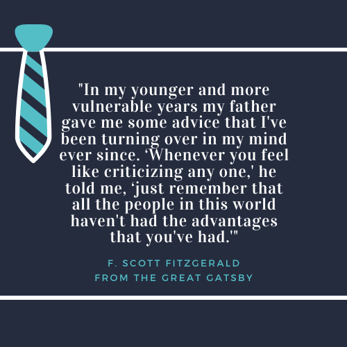 Father's Day Quotes about Dad F Scott Fitzgerald