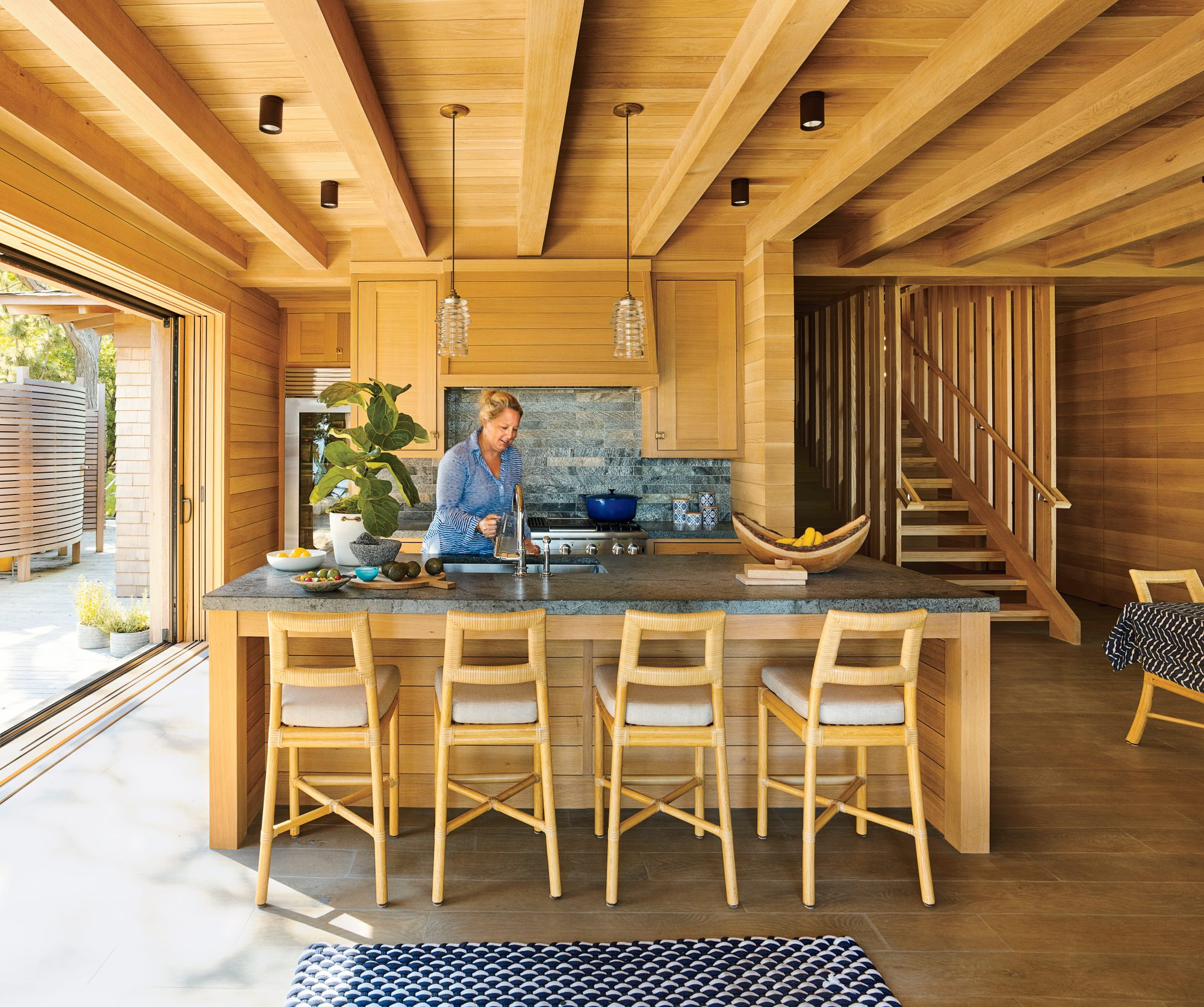 Kitchen with organic appeal