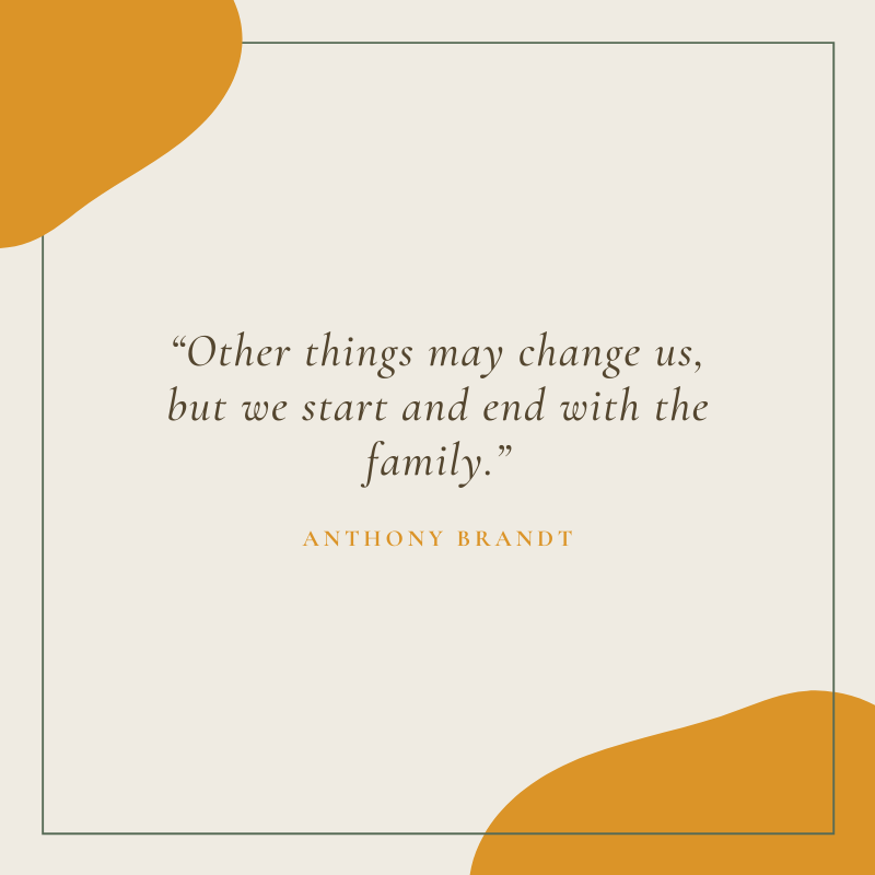Anthony Brandt Quote