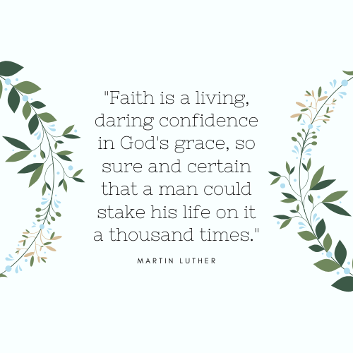 Faith Quotes Martin Luther