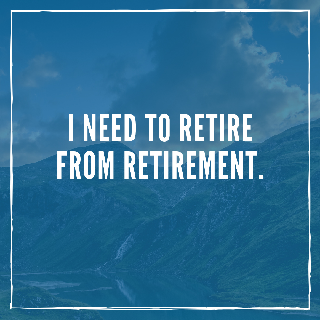 Retirement Quotes Reluctant