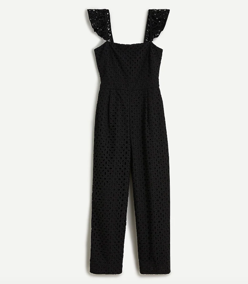 J-Crew-Ruffle-Jumpsuit-in-Embroidered-Eyelet-in-Black