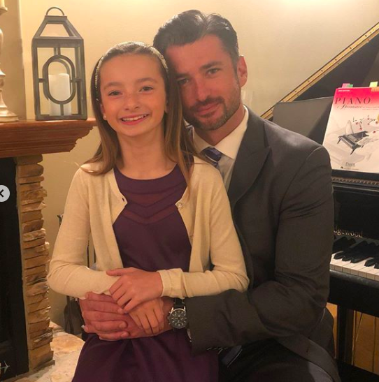 Wes and Meribeth Brown before Daddy/Daughter dance