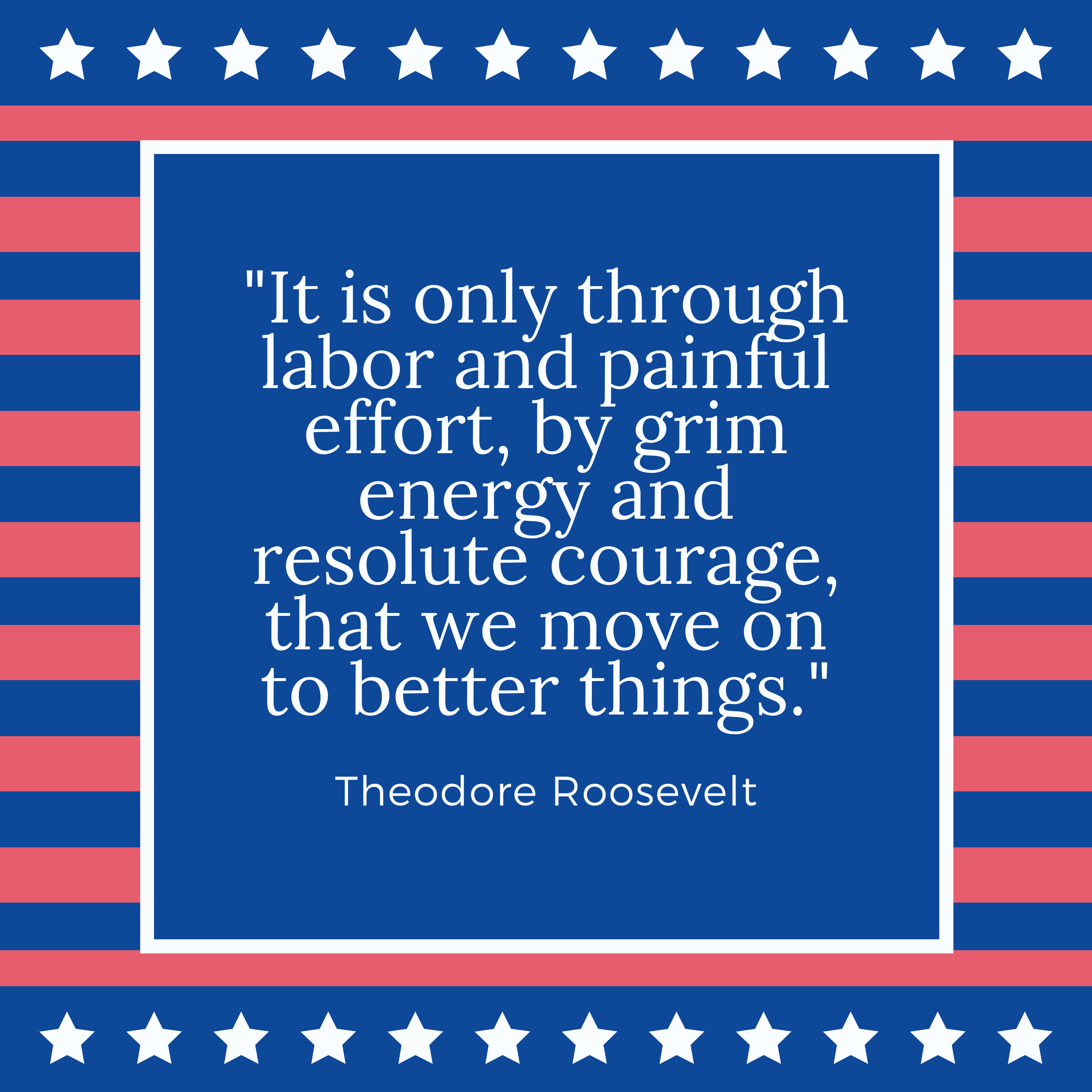Labor Day Quote Theodore Roosevelt