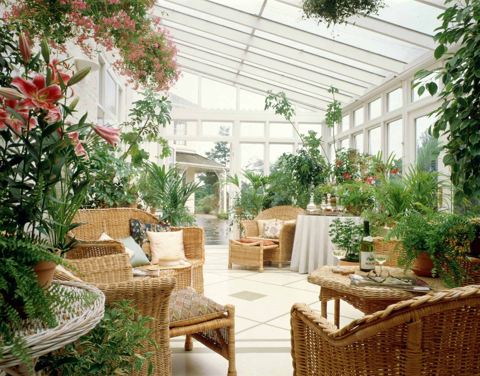 Florida Room With Plants