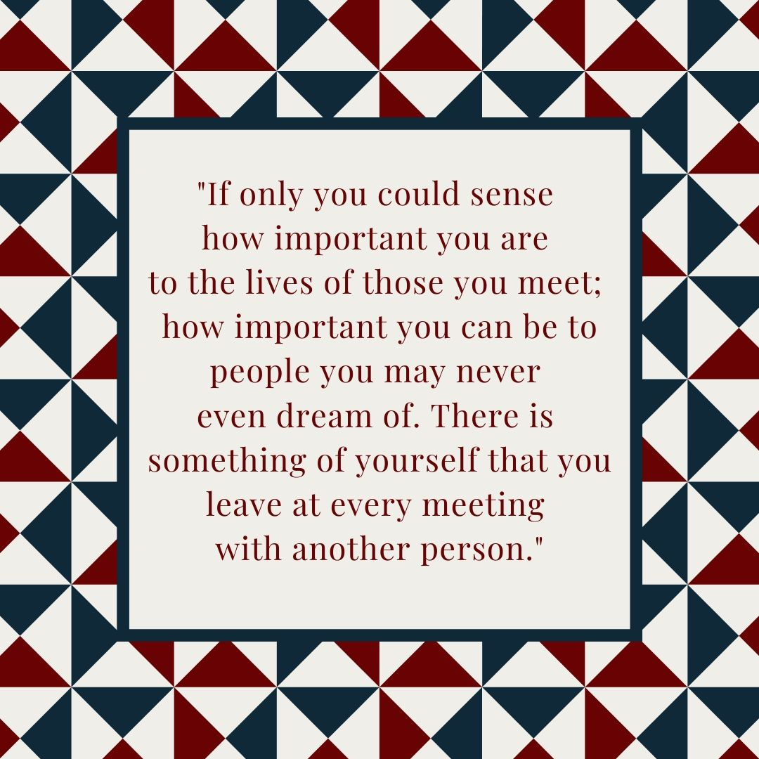 Mister Rogers Quote On Connection