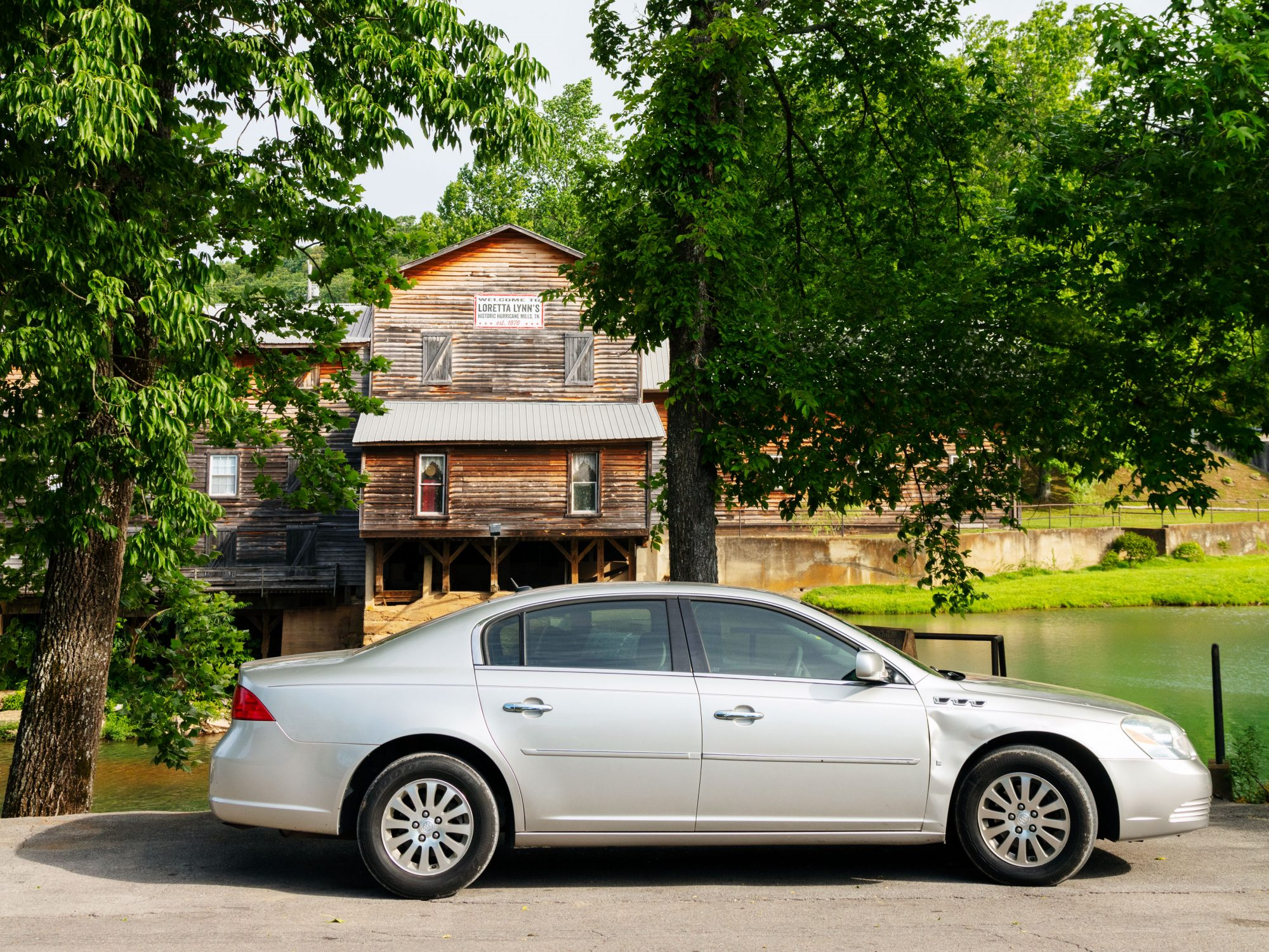 Caleb Johnson's Buick Lucerne Left to Him By His Grandmother