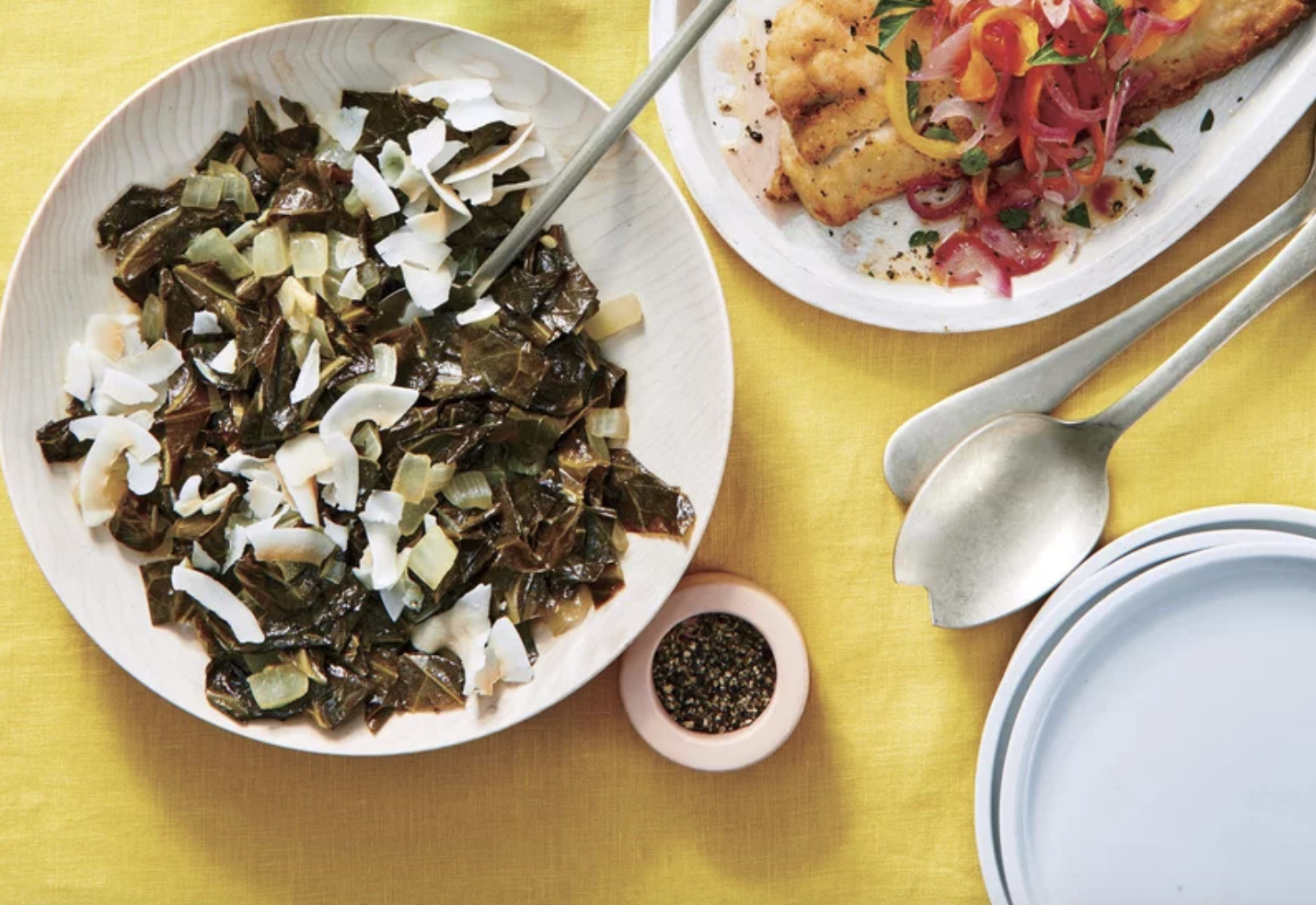 Coconut-braised Collard Greens Southern Living