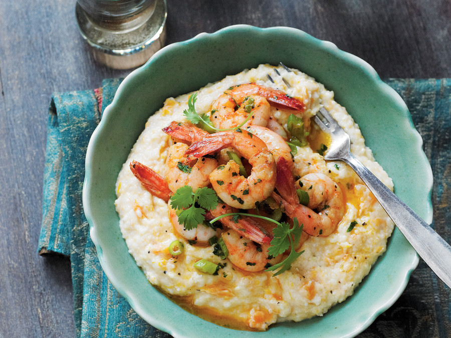 Lowcountry Shrimp and Grits Robert Stehling