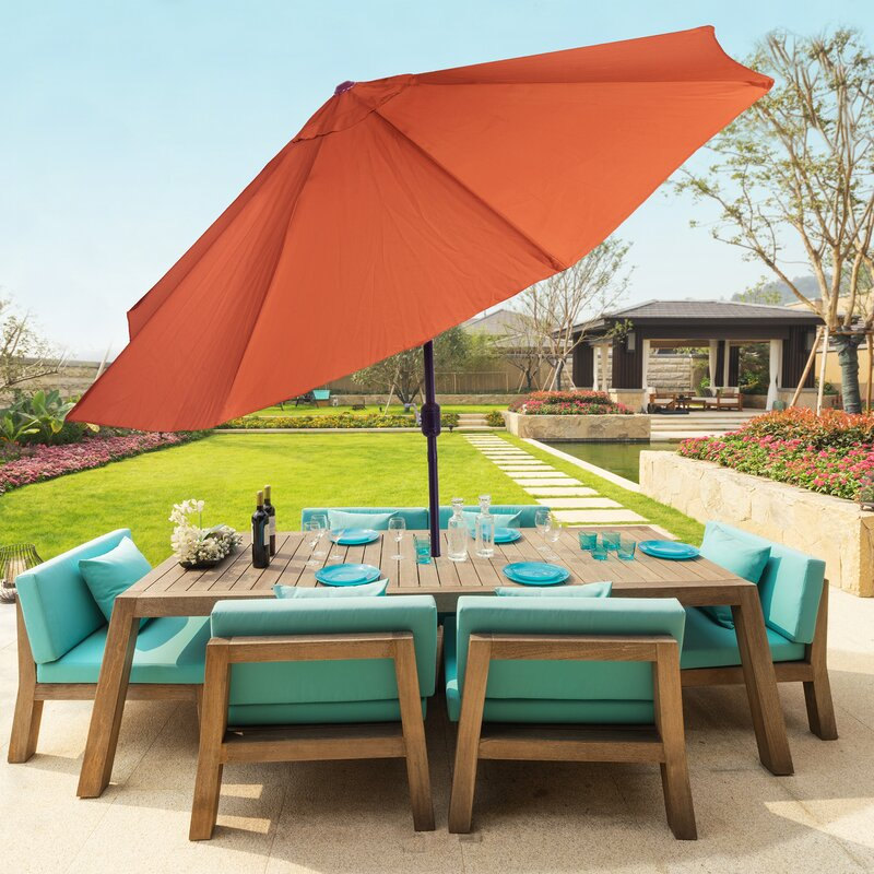Kelton Outdoor Umbrella Wayfair