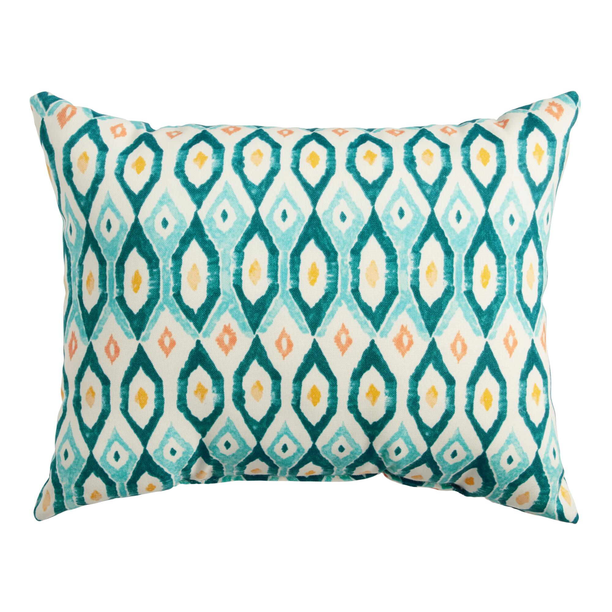 Ikat Outdoor Pillow World Market