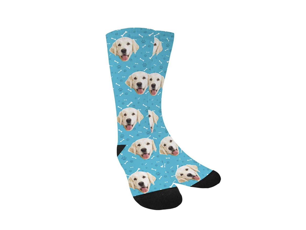 Personalized Photo Pet Face Socks