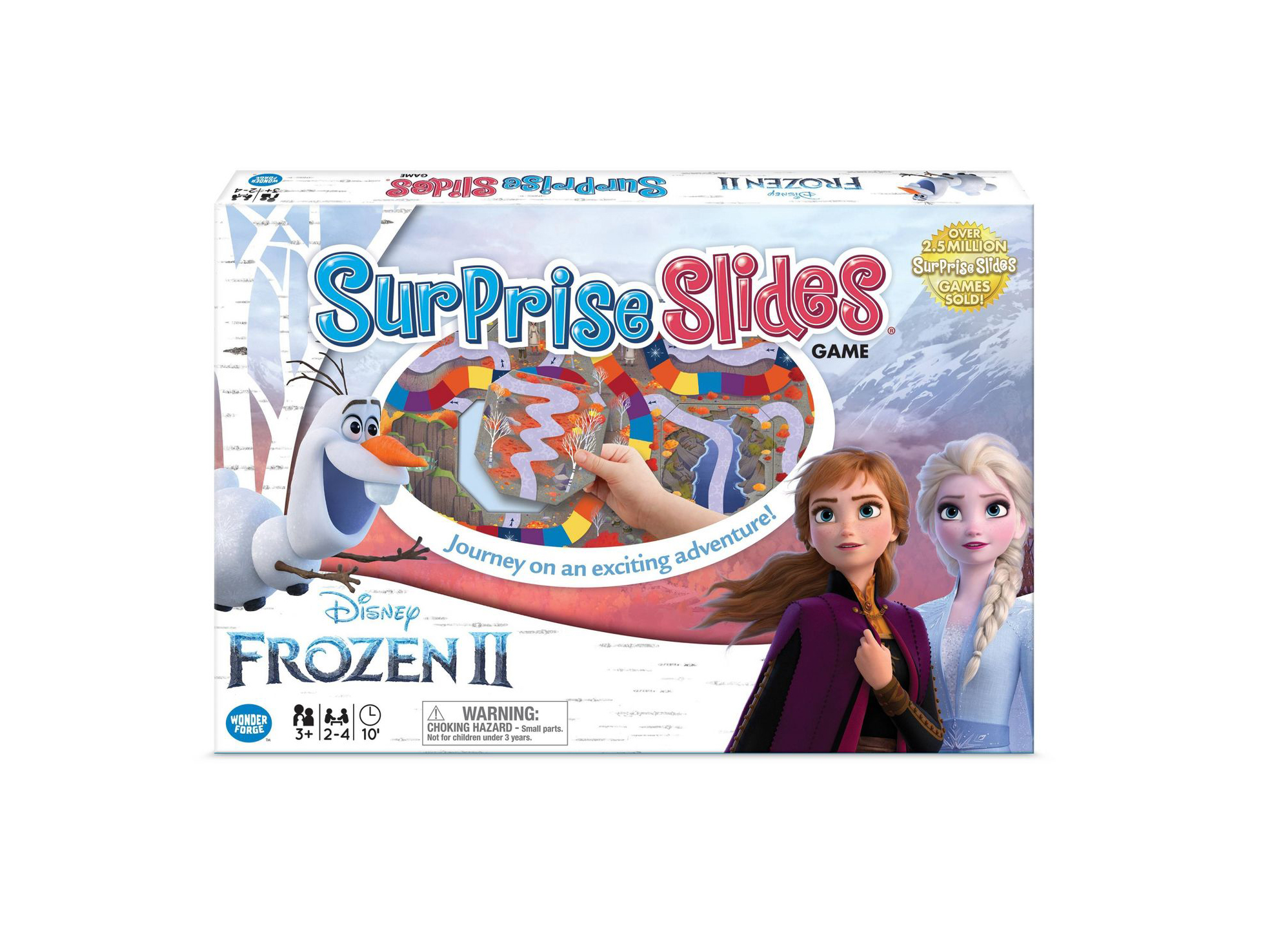 Frozen Surprise Slides Game