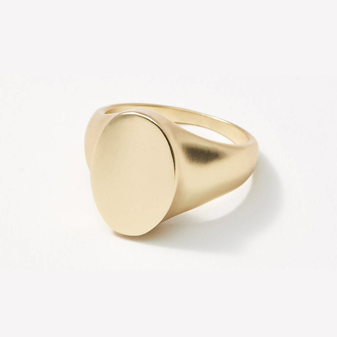 Loft Gold Signet Ring