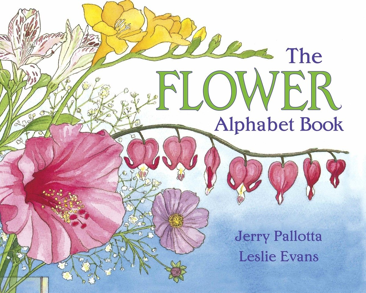 The Flower Alphabet Book by Jerry Pallotta and Leslie Evans
