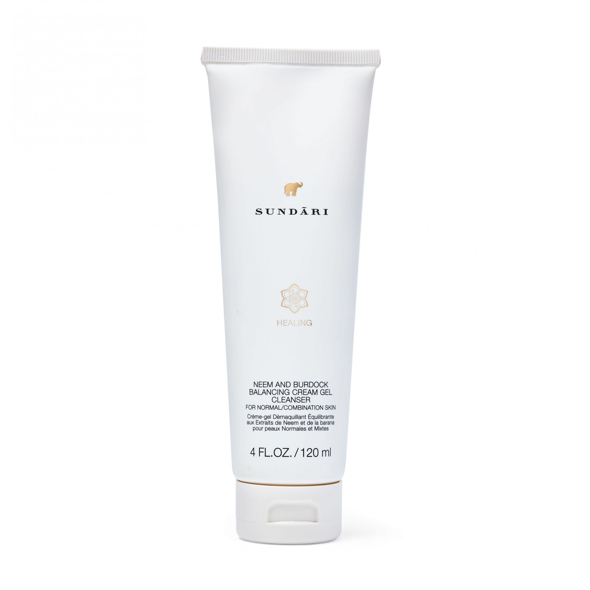 Sundāri Neem and Burdock Balancing Cream-Gel Cleanser