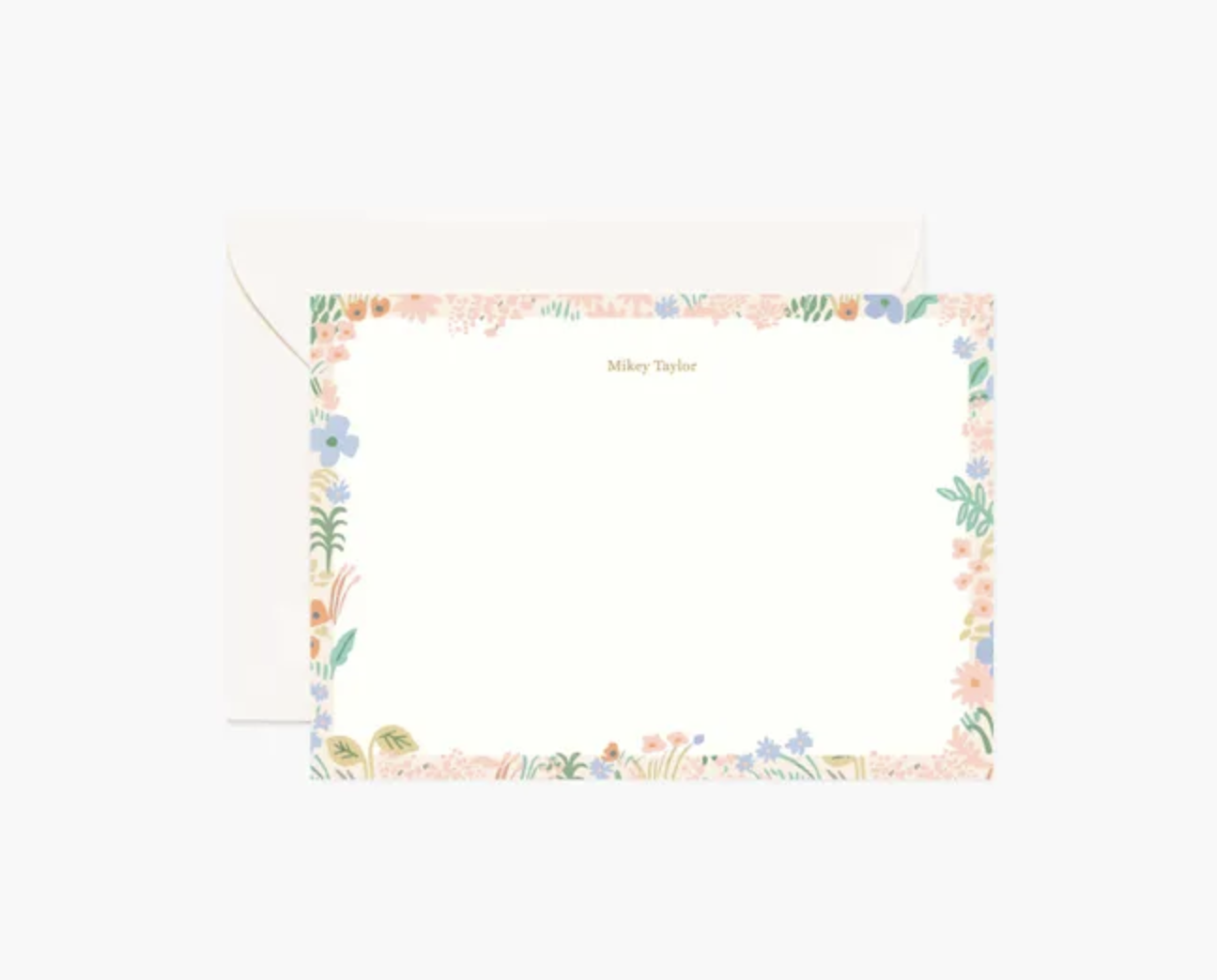 Rifle Paper Co. Pastel Meadow Flat Note