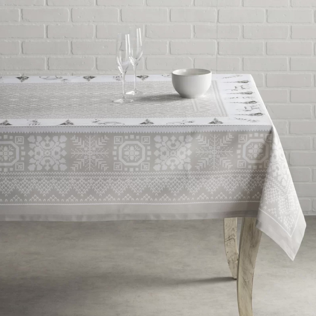 Cozy Winter Christmas Tablecloth