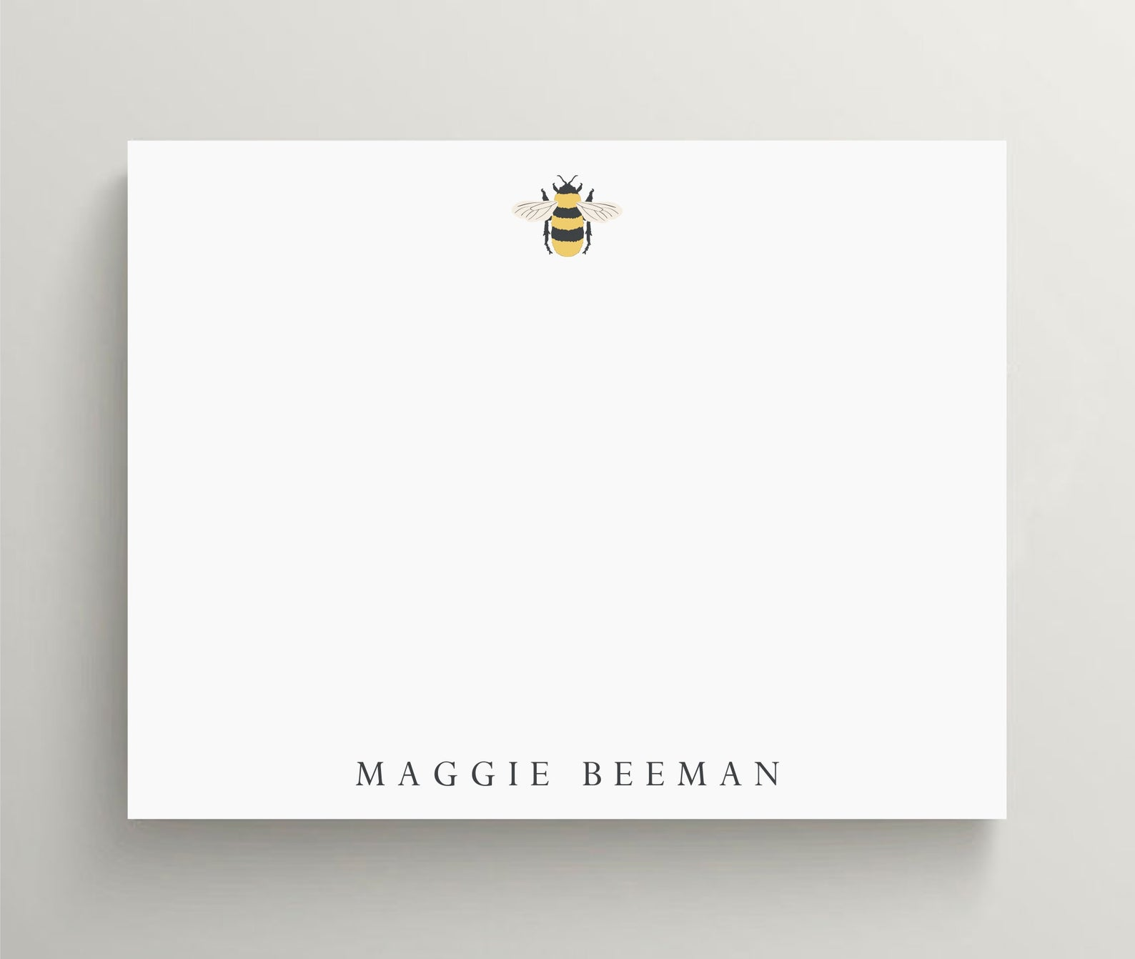 Bumblebee Personalized Stationery