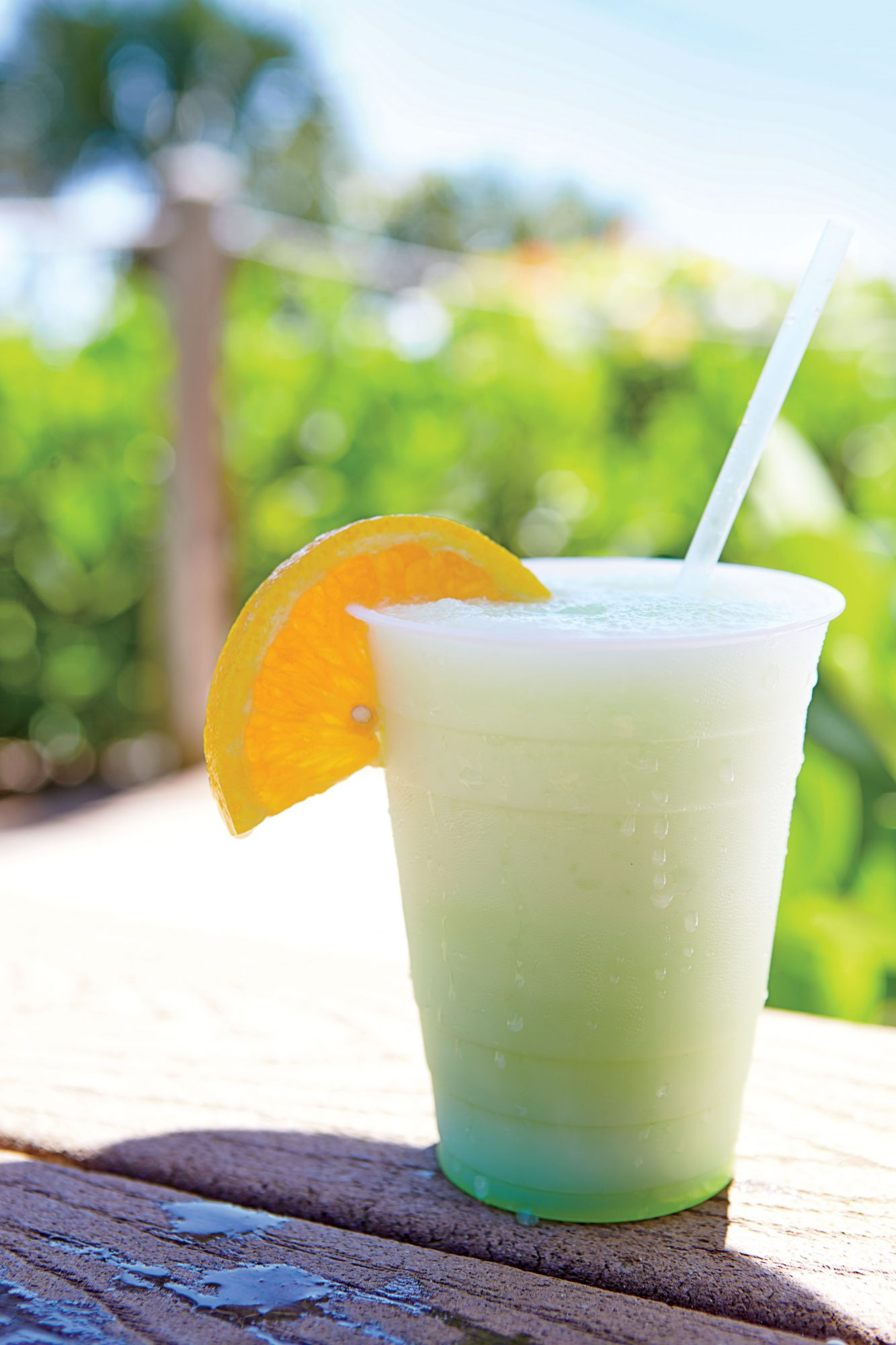 Coconuts Poolside Bar and Grill at Casa Ybel Resort is the place to go for relaxing after a day of fun in the sun. Order the Frozen Alligator—a frosty cocktail made from coconut rum, Midori melon liqueur, piña colada mix, and vanilla ice cream.