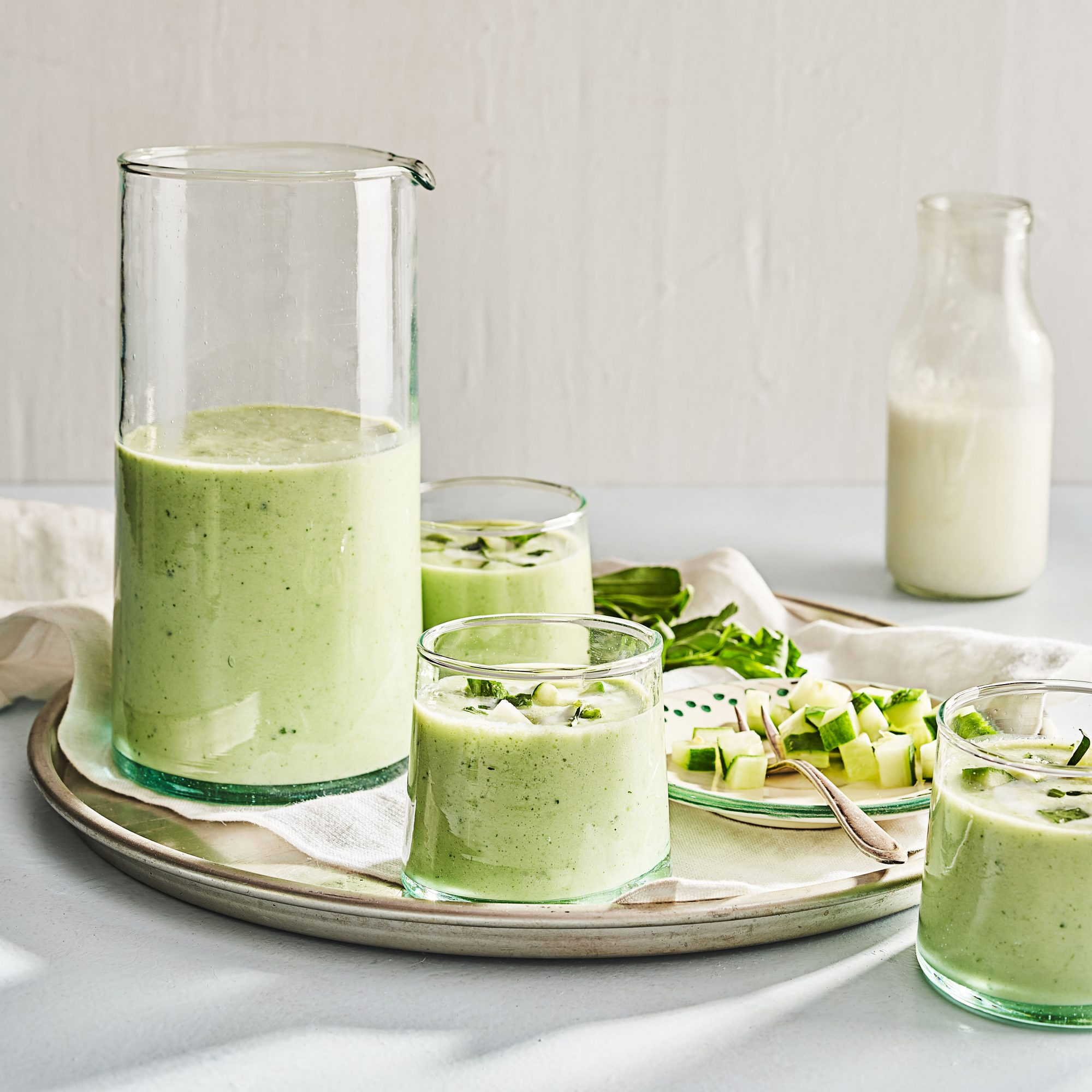 Cucumber-Buttermilk Soup
