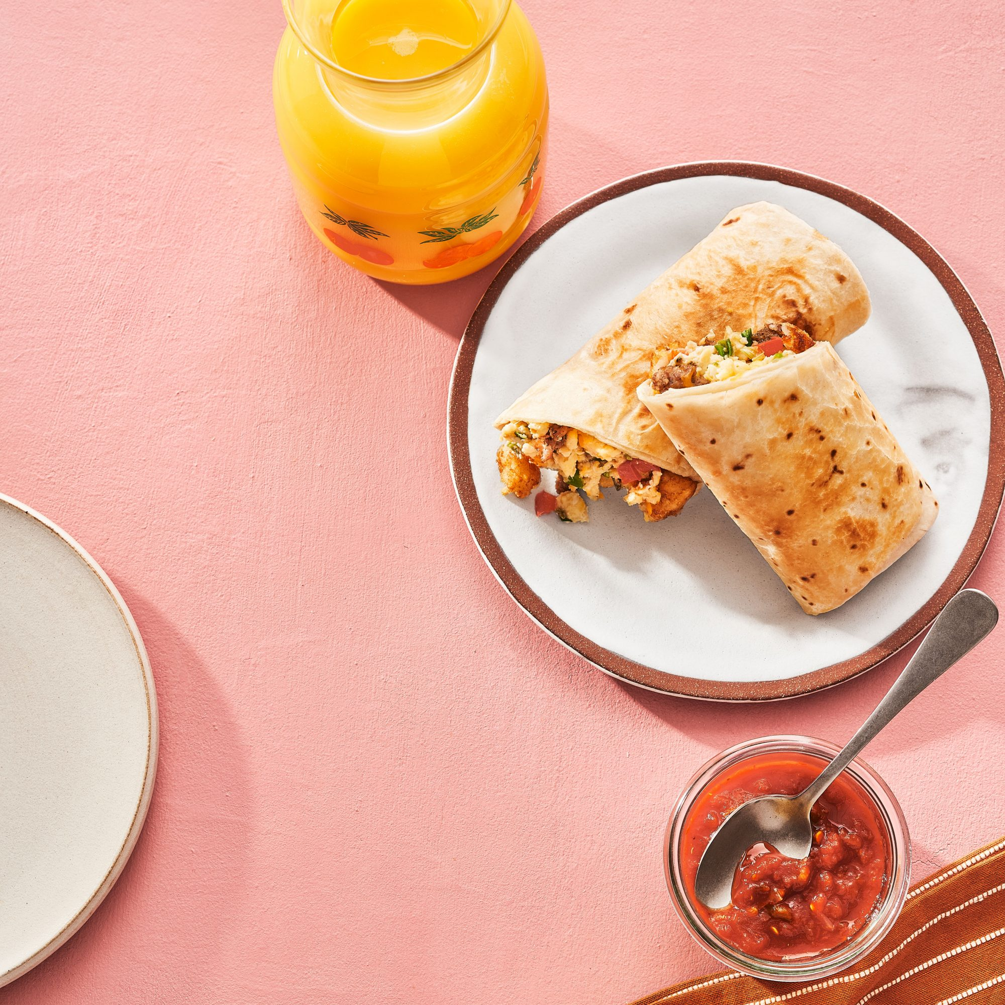 Freezer Breakfast Burritos Pam Lolley