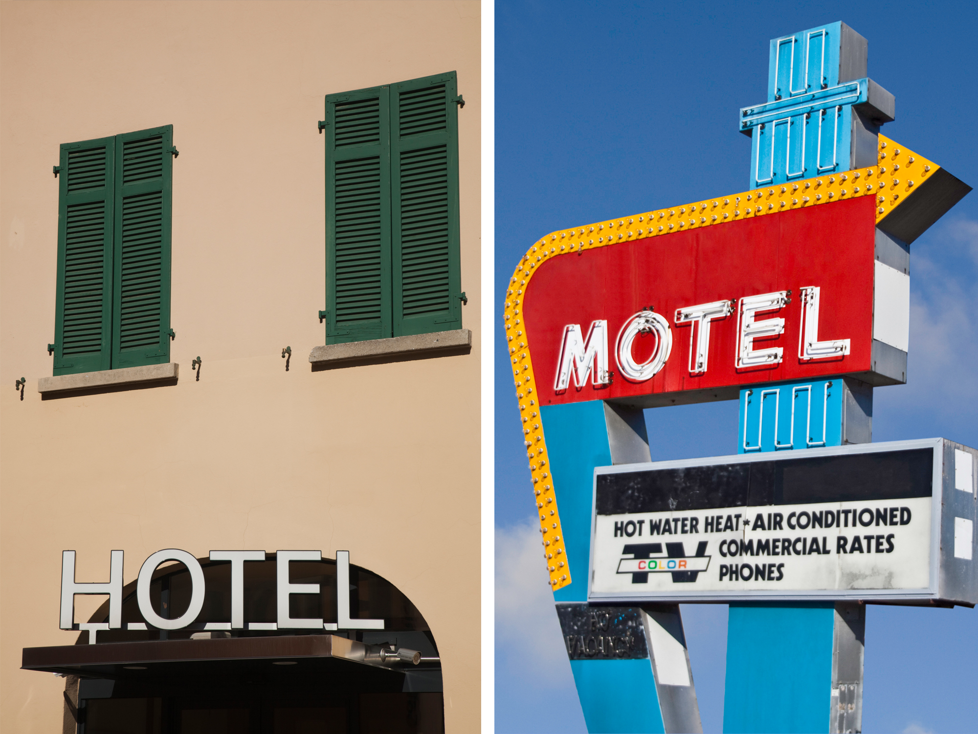 What's the Difference Between a Hotel and a Motel