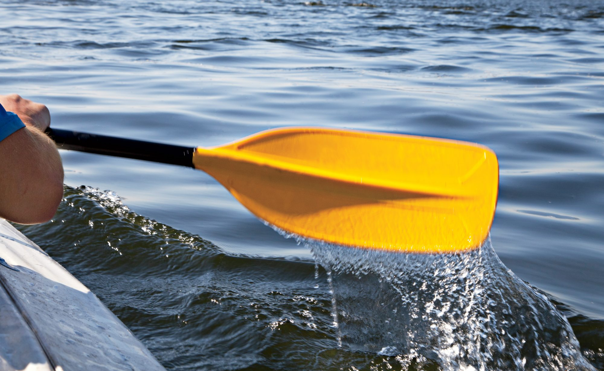 Paddle Kayaking