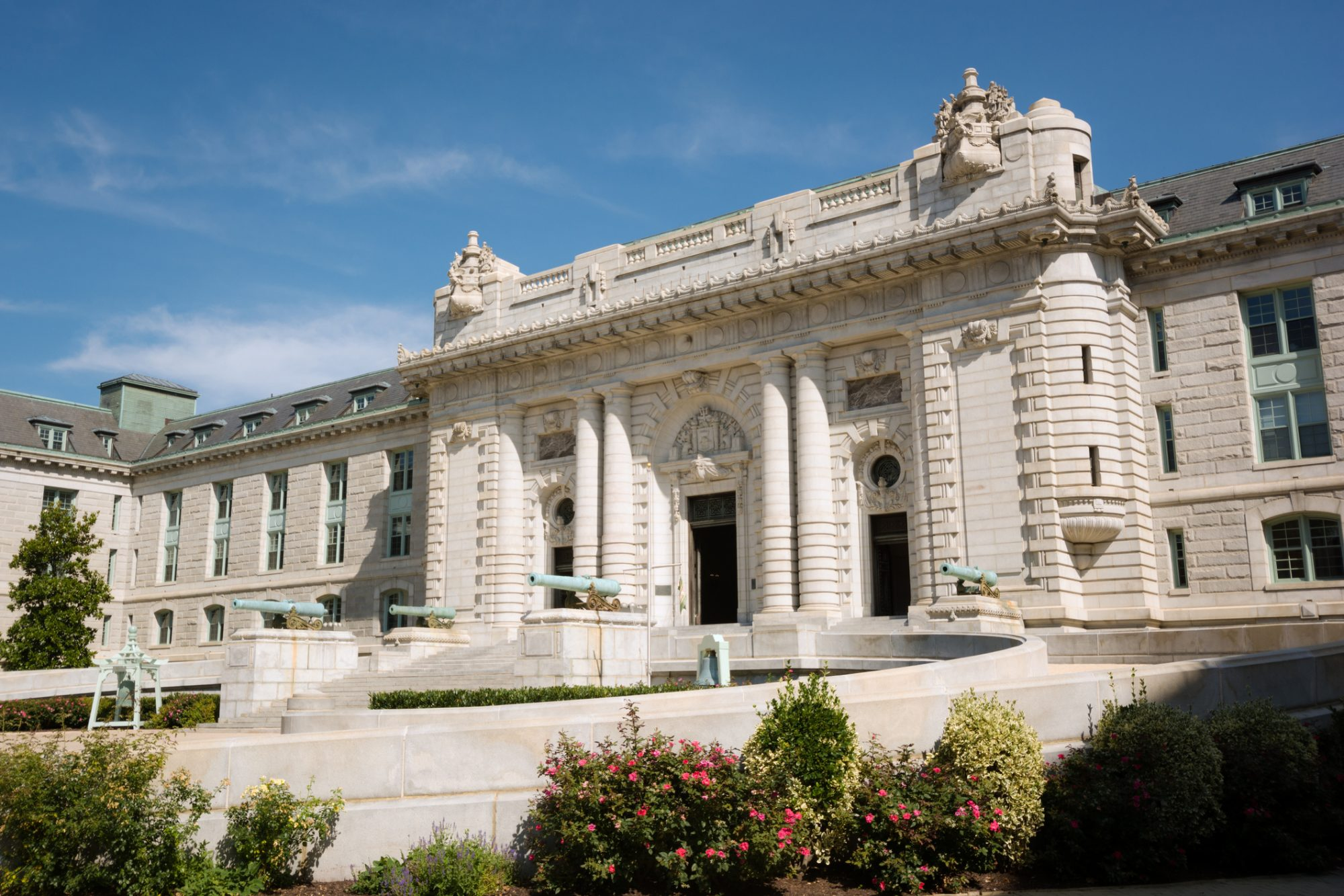 Bancroft Hall of United State Naval Academy