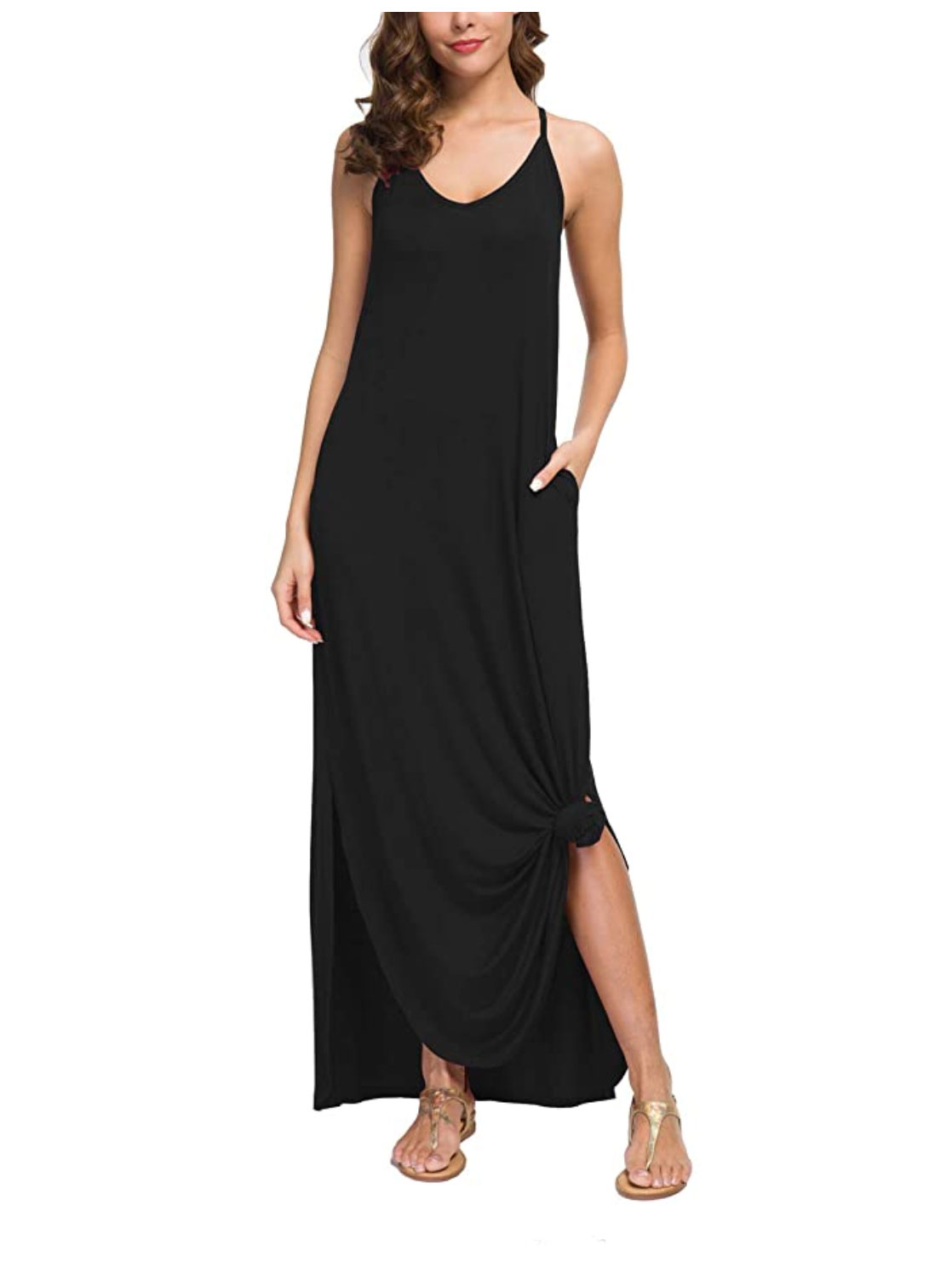 Buy It: $29.99; amazon.com                                       We love a maxi dress, but we especially love ones with pockets. This flowy style comes in 24 colors and patterns. Tie the front hem up slightly—all the kids are doing it.
